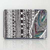 Aztec Feather. iPad Case