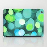 Cyan Light iPad Case