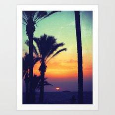Ibiza Sunrise Art Print