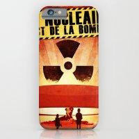 iPhone & iPod Case featuring Le Nucléaire c'est de la bombe by Jesss