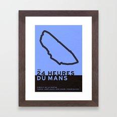 Legendary Races - 1923 24 Heures du Mans Framed Art Print
