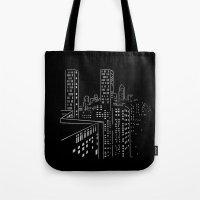 City Nights, City Lights Tote Bag