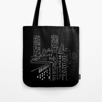 City nights, city lights Tote Bag