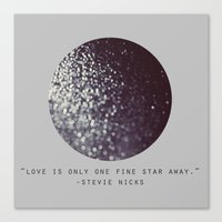 One Fine Star Canvas Print