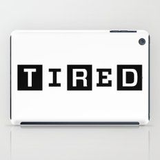 Tired Magazine iPad Case