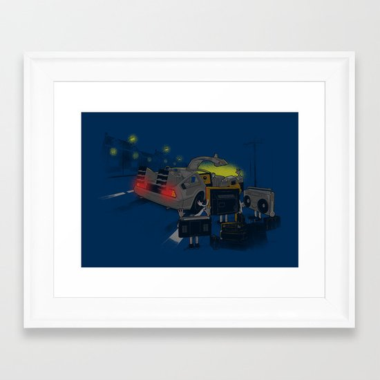 Back to Glorious Age Framed Art Print