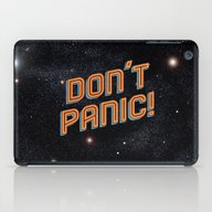 iPad Case featuring Don't Panic by Sarajea