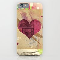 iPhone & iPod Case featuring Valentine's Day Heart I by Andre Villanueva