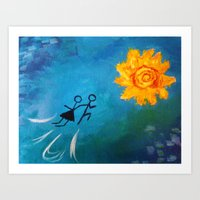 Summer Fling Art Print
