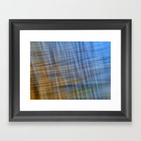 Water Pattern #4 Framed Art Print