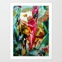 RedIris  Art Print