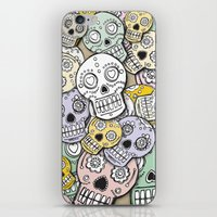 calaveras iPhone & iPod Skin