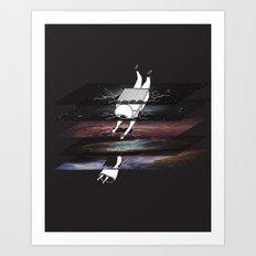 Through the Tesseract Art Print