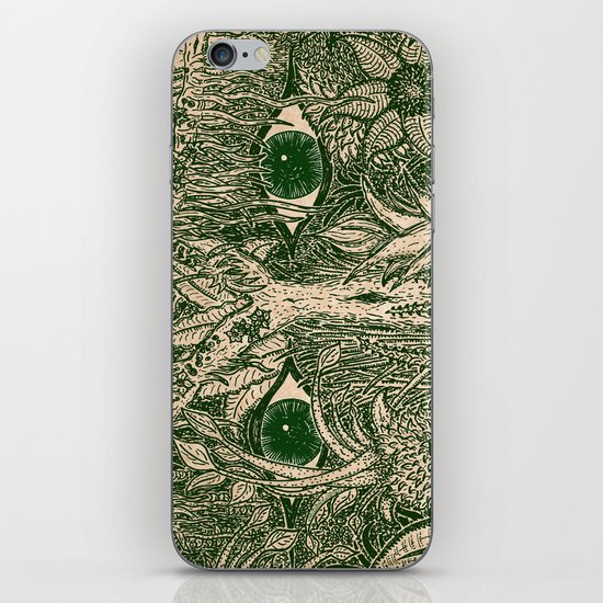 gaia mandala iPhone & iPod Skin