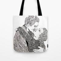 Gone With The Wind Elabo… Tote Bag