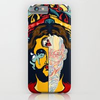 iPhone & iPod Case featuring Anatomy of Jesus by kzeng Jiang