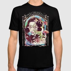Psychedelia Mens Fitted Tee Black SMALL