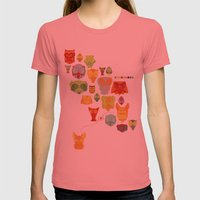 True Love Womens Fitted Tee Pomegranate SMALL