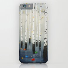Boats in Trees iPhone 6 Slim Case