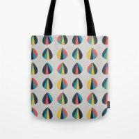 Abstract Petals Tote Bag