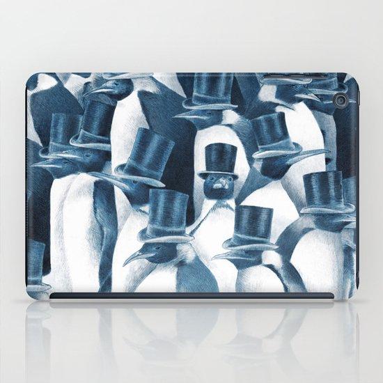 A Gathering of Gentlemen (square format) iPad Case