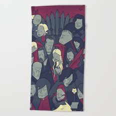 Ice and Fire Beach Towel
