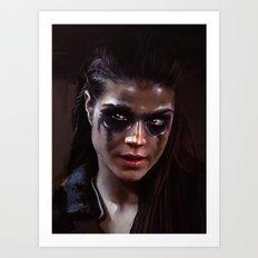 Octavia, The 100 Art Print