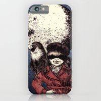 iPhone & iPod Case featuring Posing on the moon by Alina Gorban