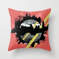 The Event Horizon Throw Pillow