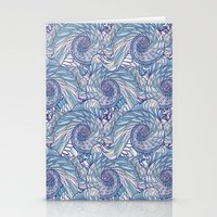 Peacock Swirl - Original Stationery Cards