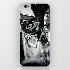 Day Of The Dead Wedding Couple iPhone & iPod Skin