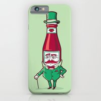 iPhone & iPod Case featuring Sir Fancy Ketchup by Ben Douglass