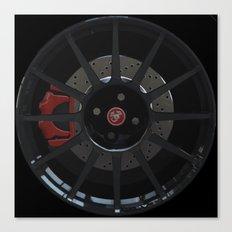500 Abarth Wheel Canvas Print