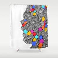 - Virus_02 - Shower Curtain