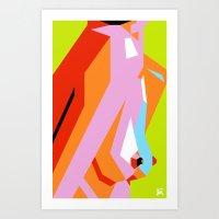 Side Show Art Print