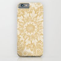 Floral In Yellow iPhone 6 Slim Case