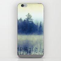 Morning Blues iPhone & iPod Skin