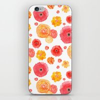 MARIGOLDS iPhone & iPod Skin