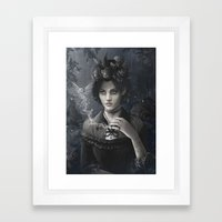 Oisillon (Victorian Lady) Framed Art Print