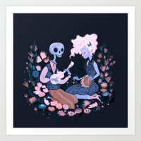 Rhythm Of Grief Art Print