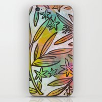 Painted Jungle iPhone & iPod Skin