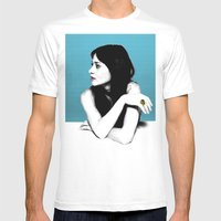 FIONA APPLE IDLER WHEEL Mens Fitted Tee White SMALL