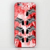 Double Triple (revolver) iPhone & iPod Skin