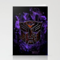 Autobots Abstractness - … Stationery Cards