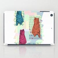 Cute little bears iPad Case