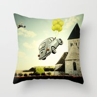 Throw Pillow featuring Dream by Emre Cerci