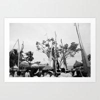 Nyepi Art Print