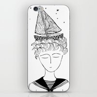 Dreamer on board iPhone & iPod Skin