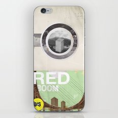 The RED Project Coming S… iPhone & iPod Skin