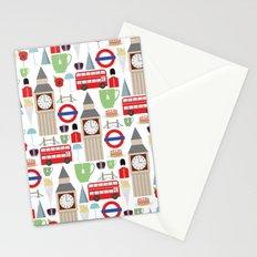 London Pattern Stationery Cards